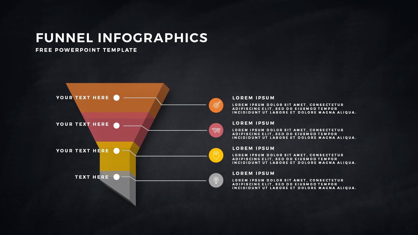 Marketing Funnel Template Ppt
