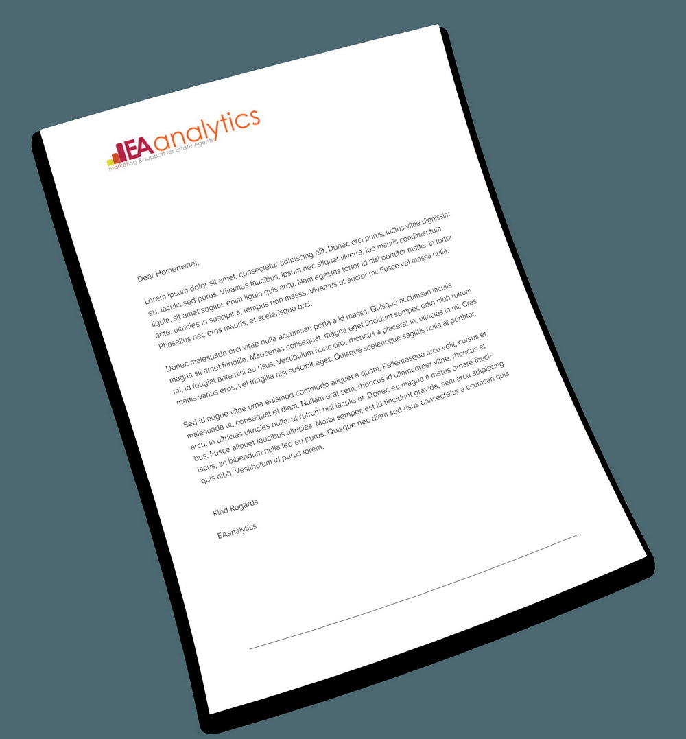 Mock Email Template