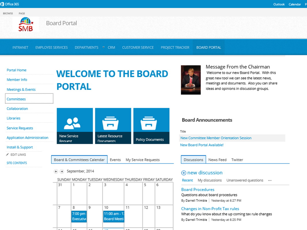 Office 365 Sharepoint Templates