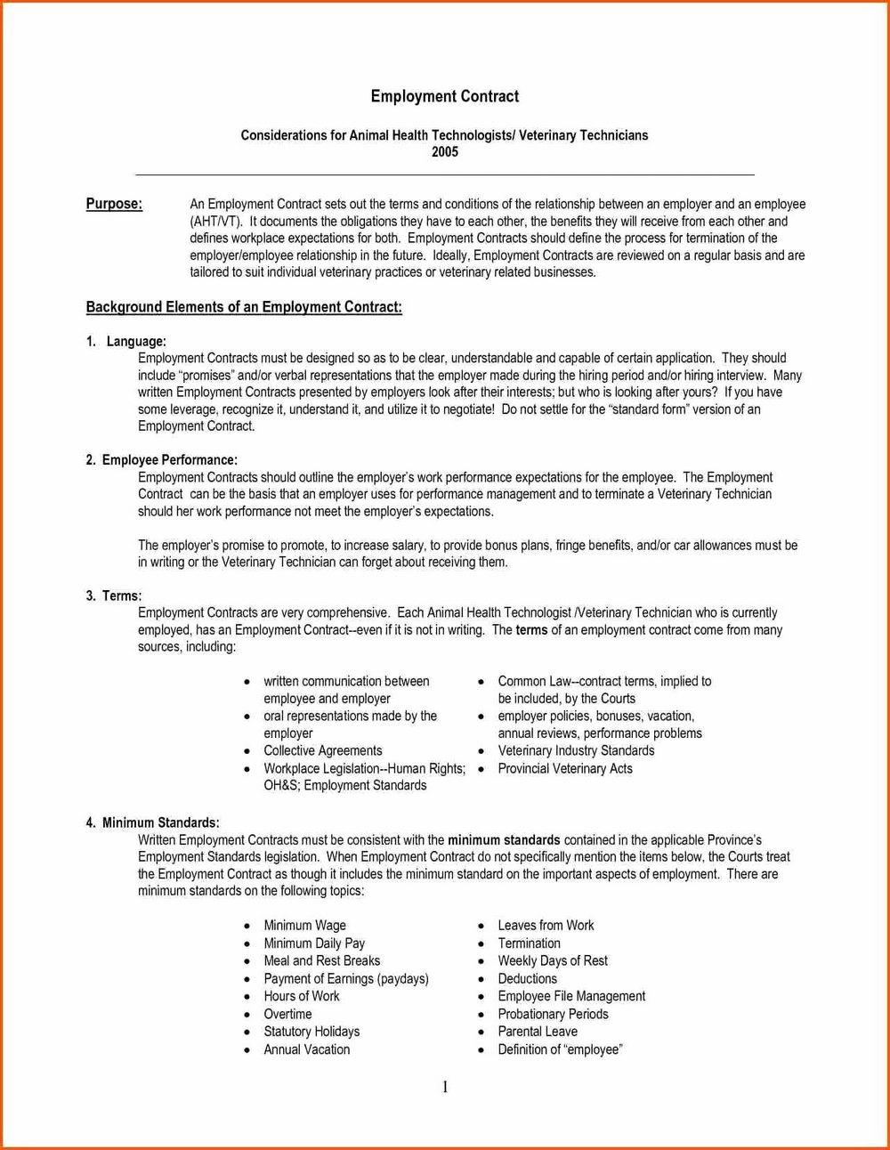 Personnel Handbook Template