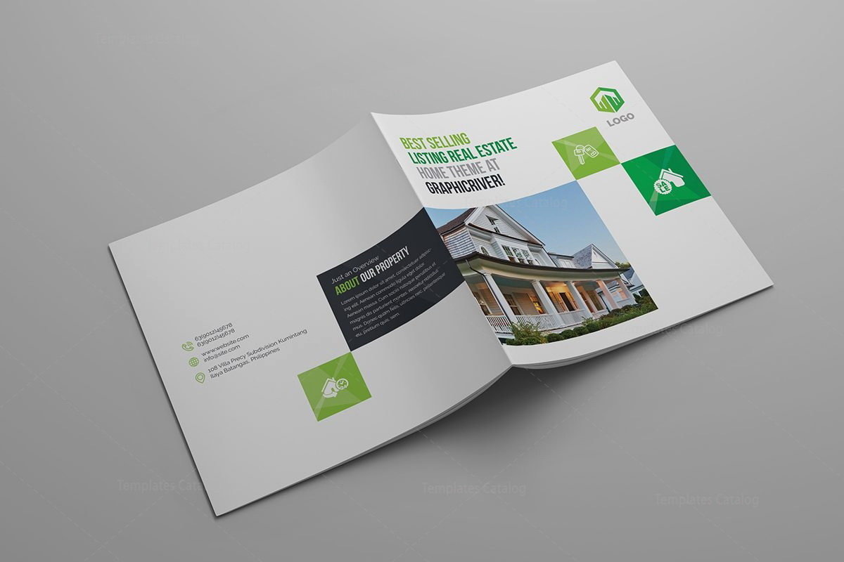 Real Estate Brochure Design Templates