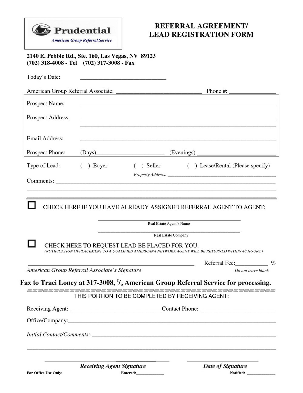 Referral Agreement Template