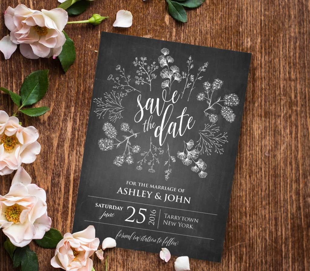Rustic Wedding Invitation Templates Free Download