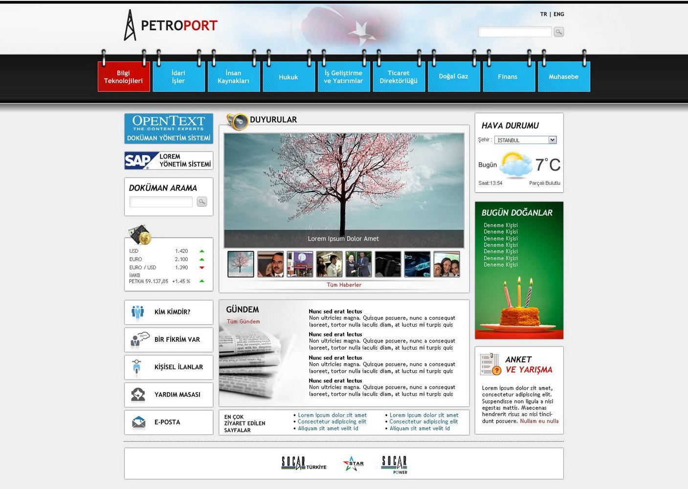 Sharepoint Intranet Templates