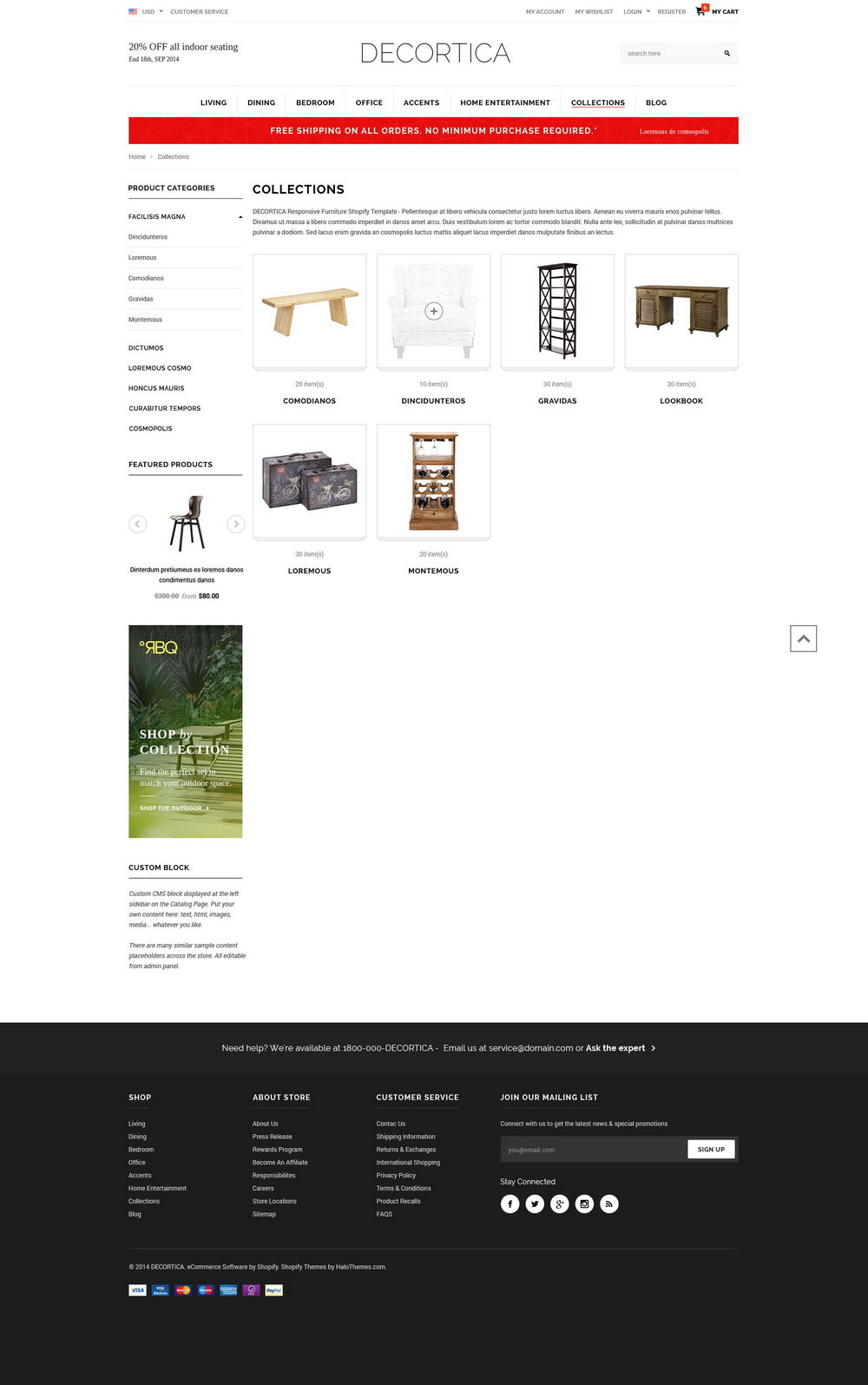 Shopify Responsive Templates
