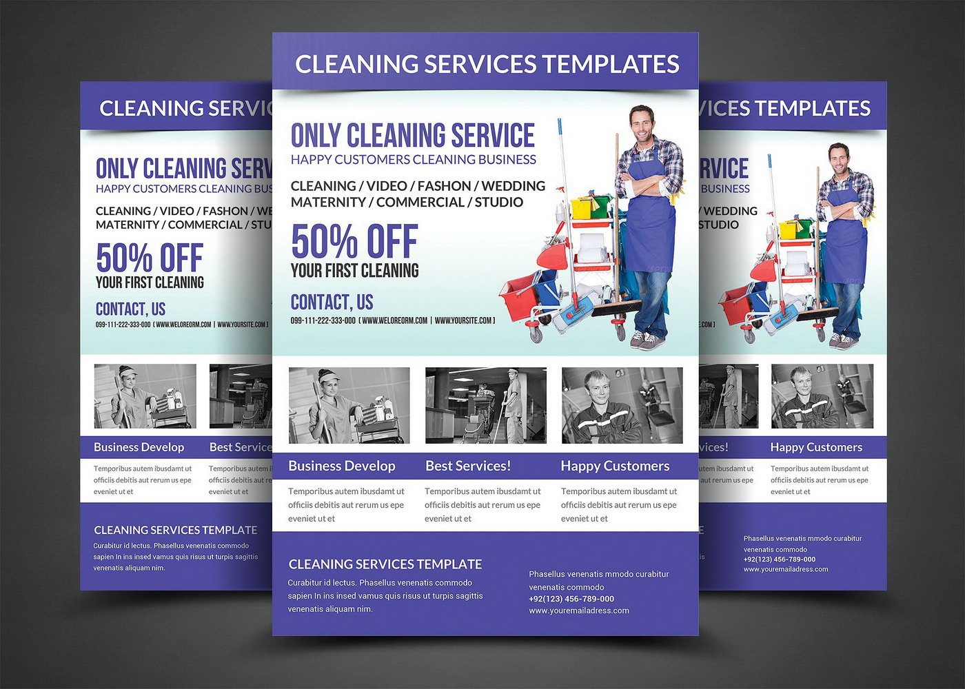 Window Cleaning Flyers Templates Free