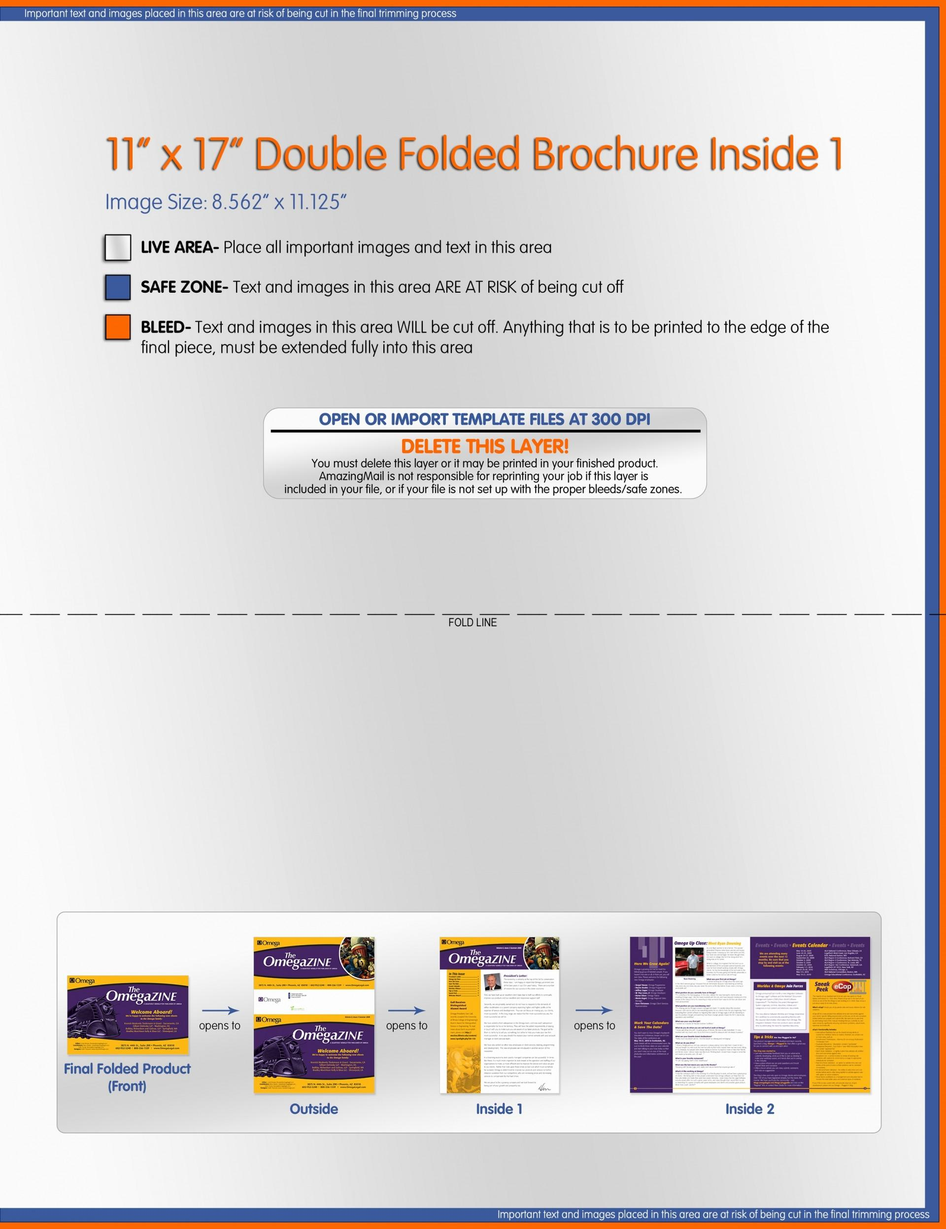 11x17 Newsletter Template Word Free
