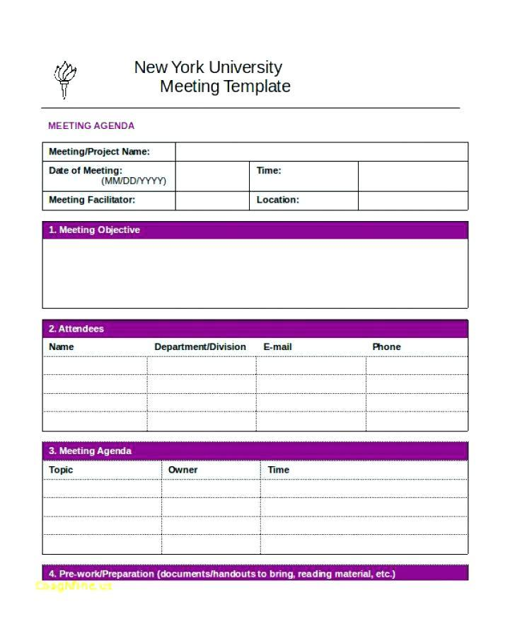 Annual Corporate Minutes Template Word