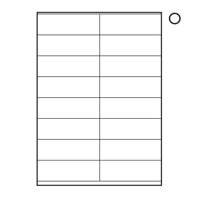Blank Label Templates 16 Per Sheet