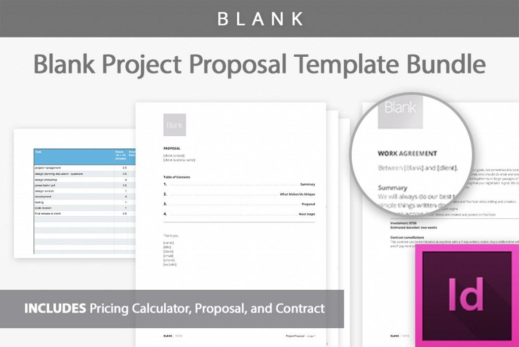 Blank Project Proposal Template