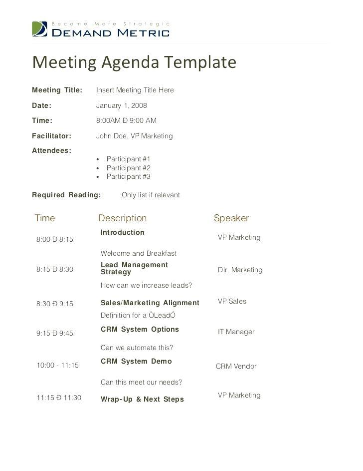 Board Meeting Agenda Template Uk