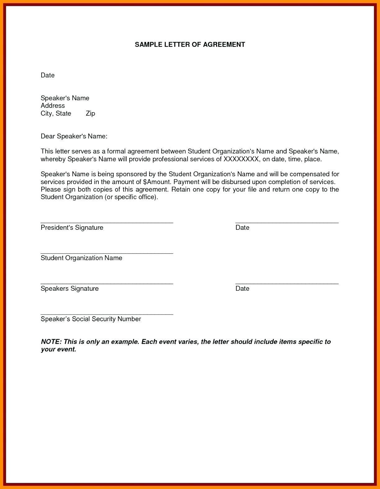 Borrow Money Contract Example
