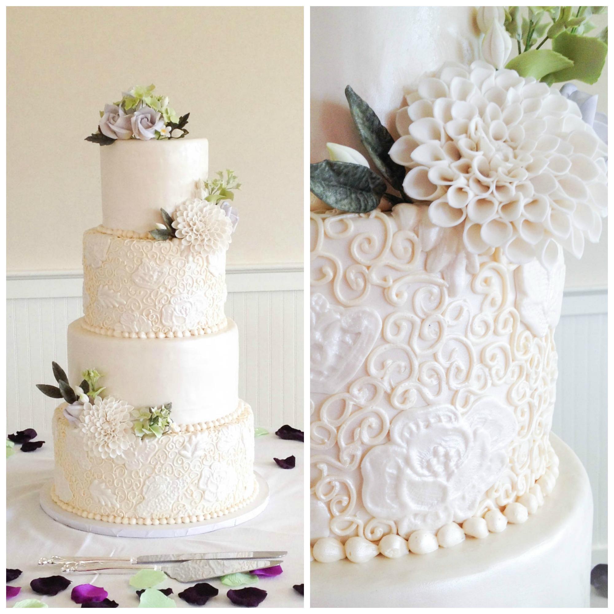 Cake Piping Templates Sheets