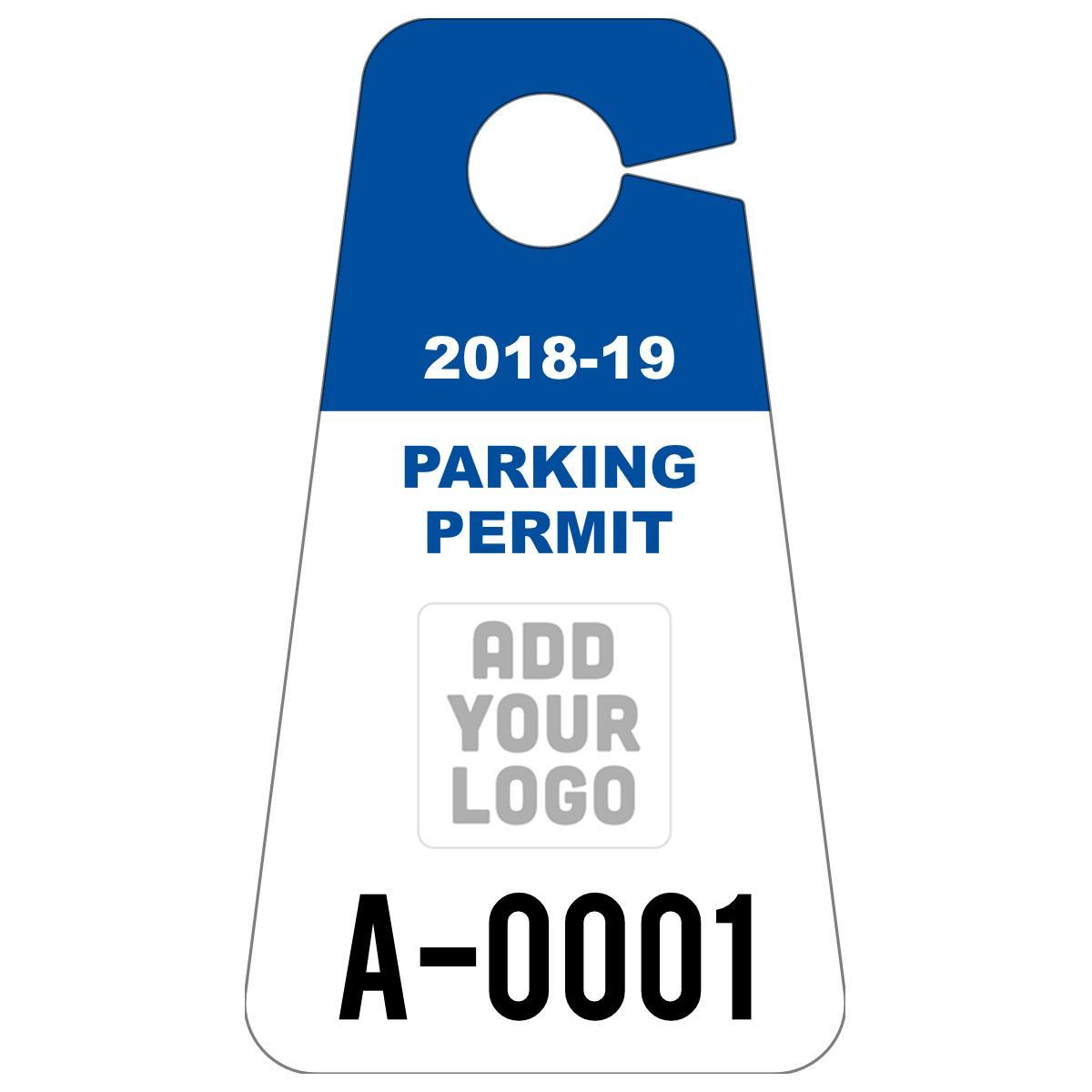 Car Parking Permit Template