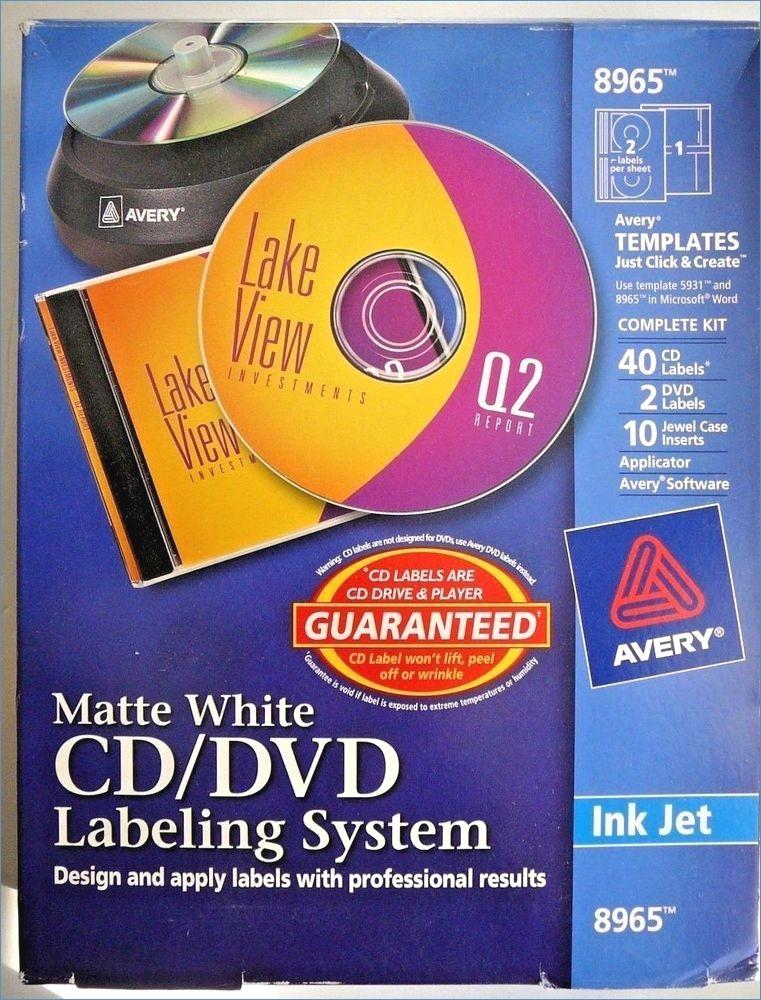 Cd Label Templates Avery