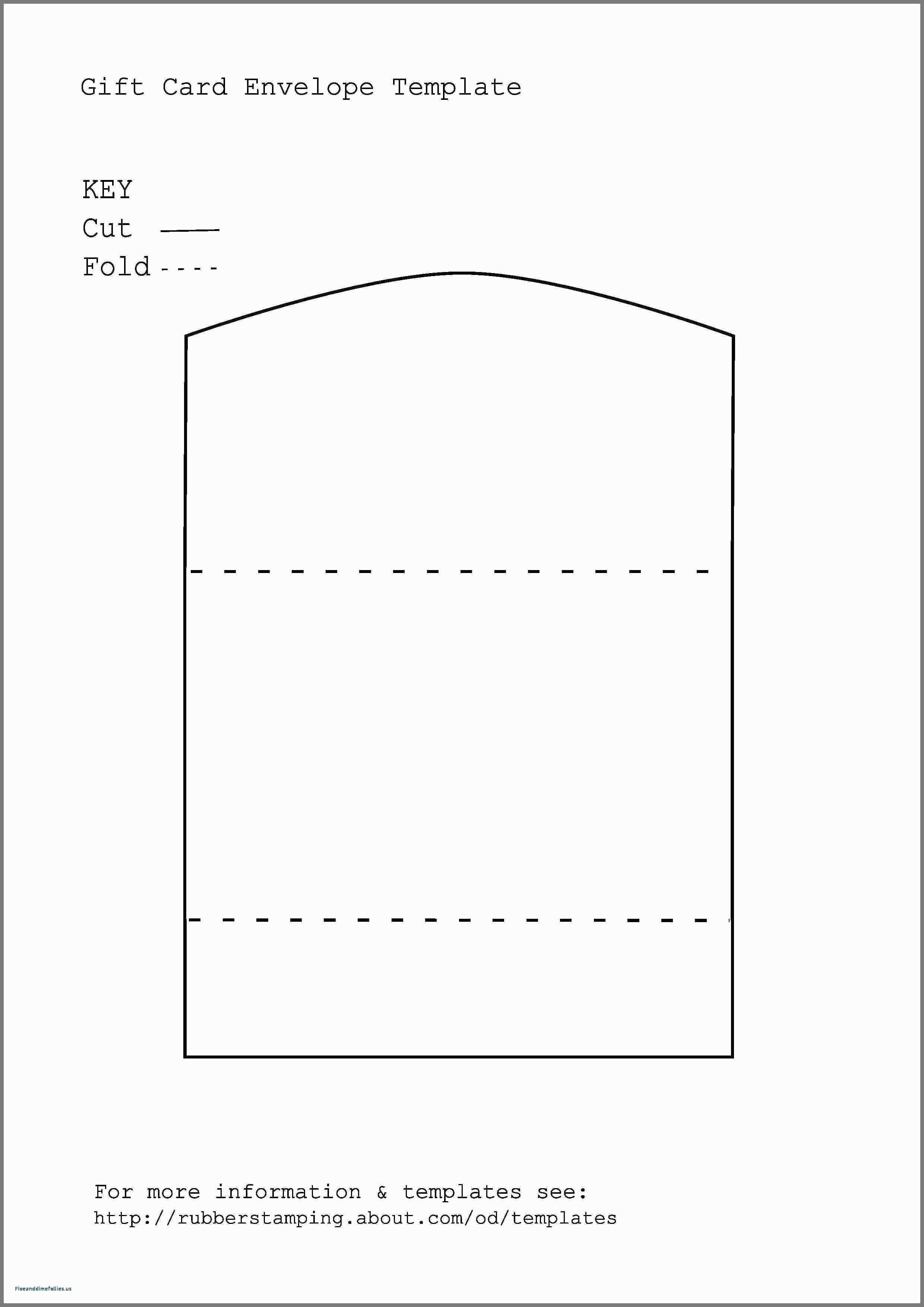 Church Donation Envelope Template
