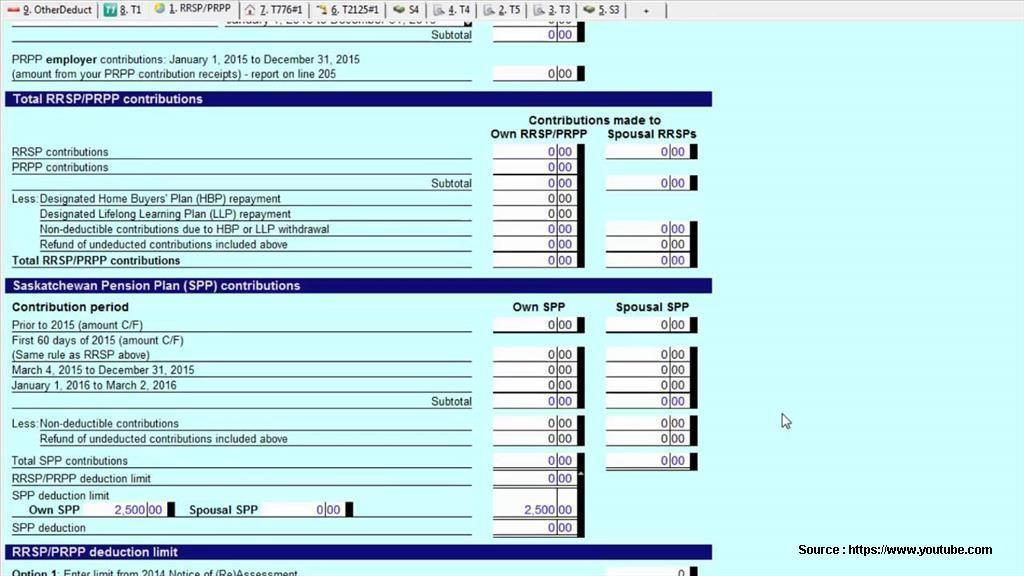 Cra T2200 Income Tax Form