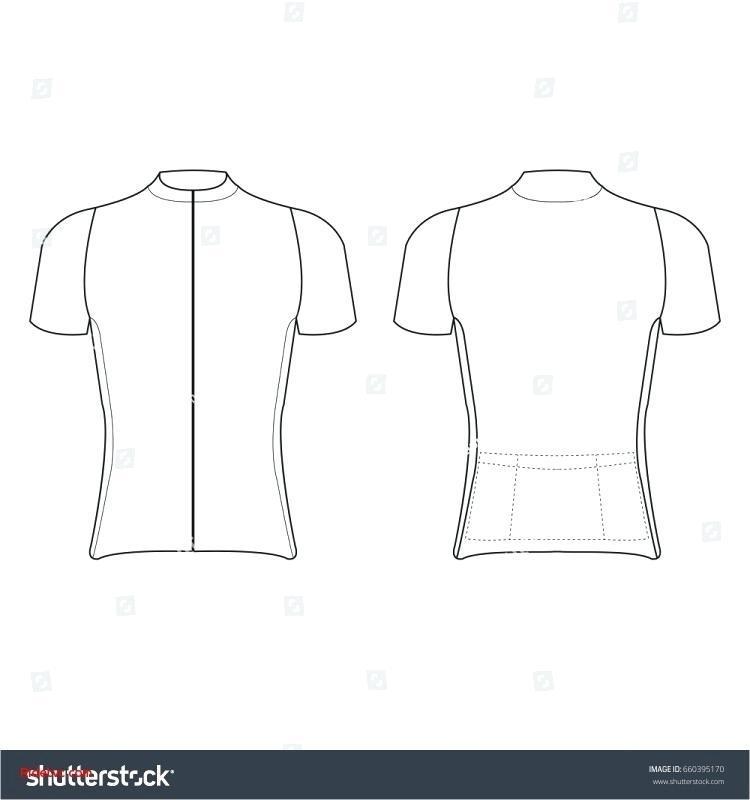 Cycling Jersey Template Ai