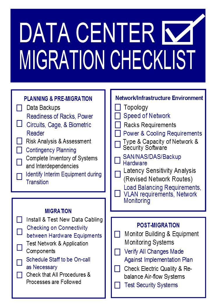Data Migration Checklist Template