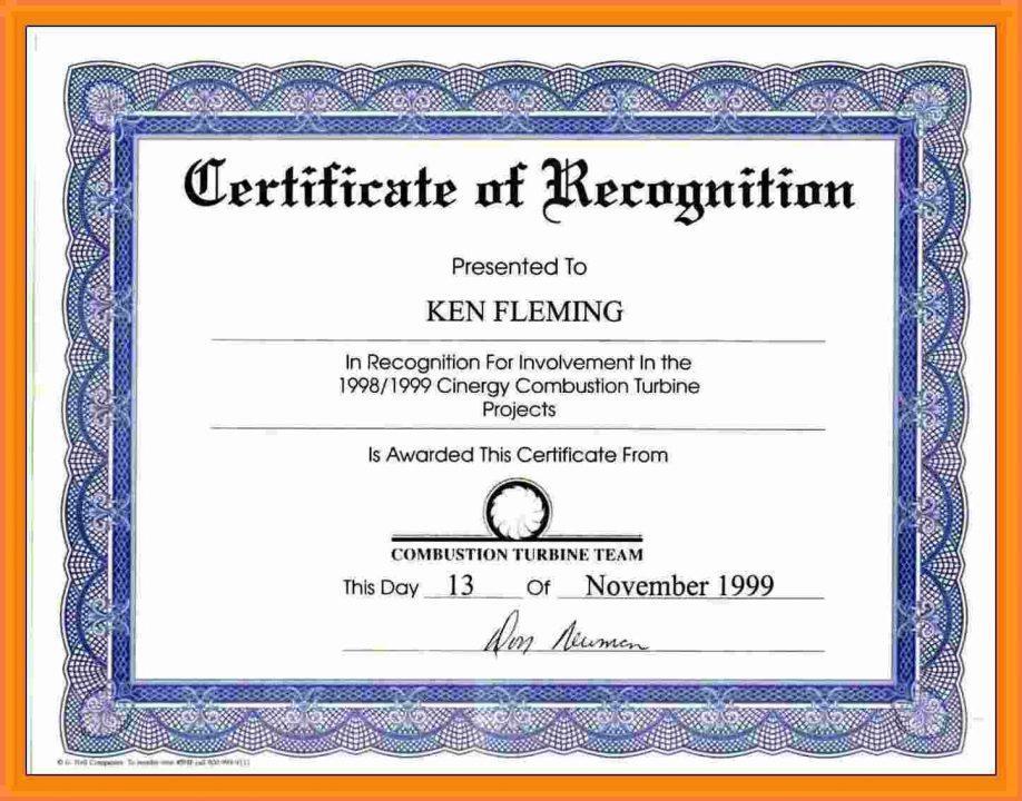 Employee Recognition Award Sample Wording