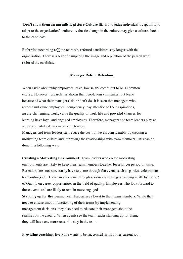 Employee Retention Agreement Form