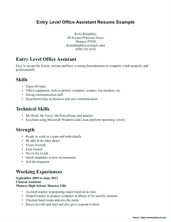 Dental Assistant Resume Templates