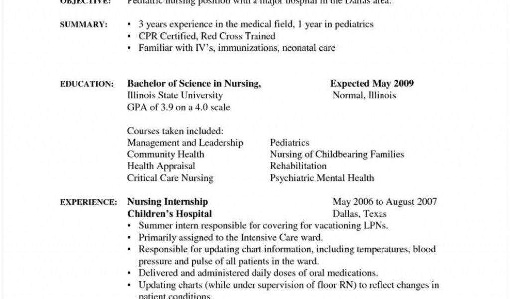 Sample Resumes For Medical Assistant Students