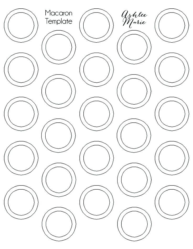 1 Inch Circle Labels Template
