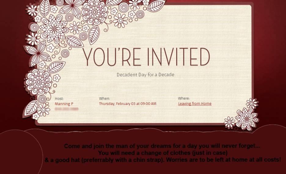1st Wedding Anniversary Invitation Templates