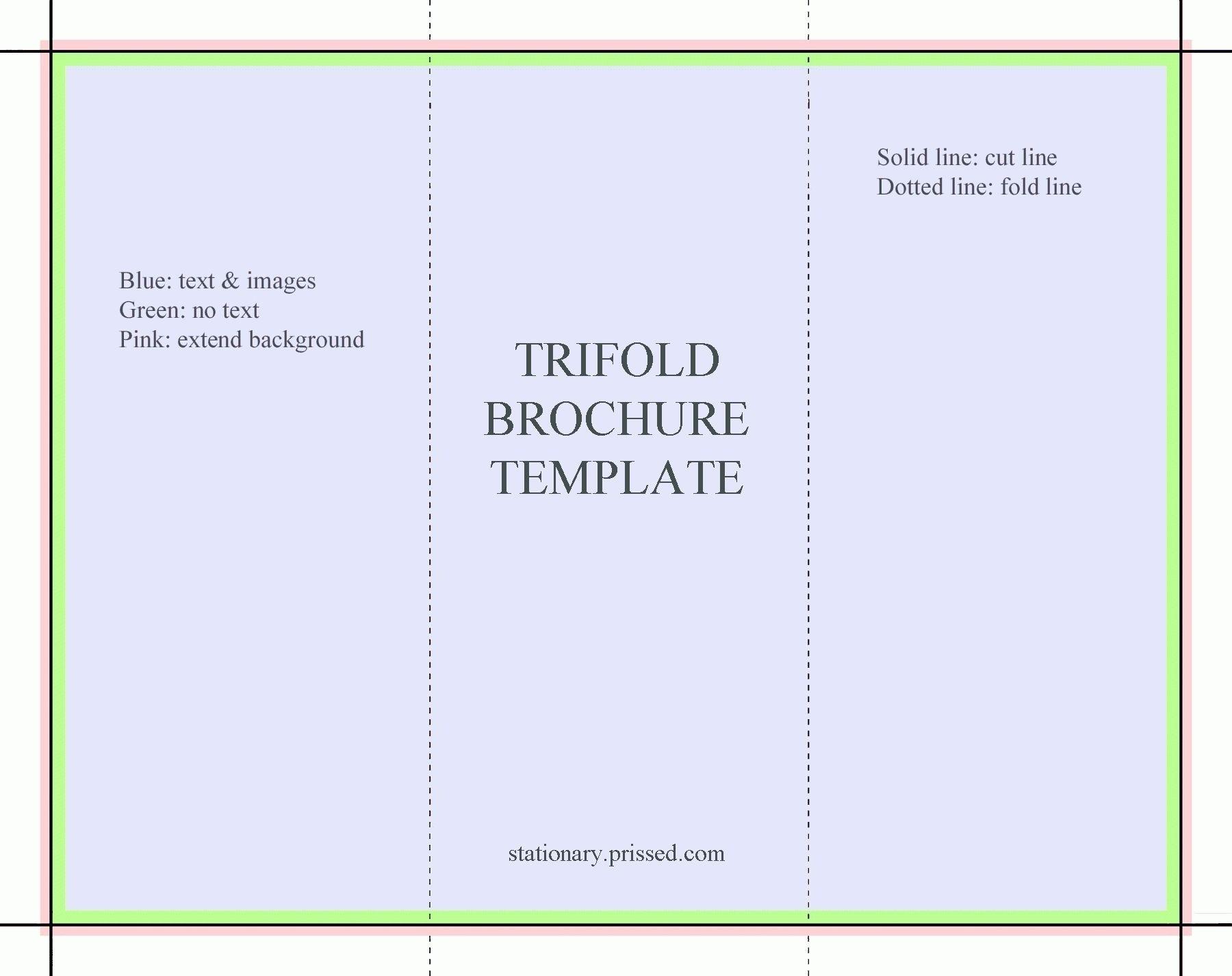 5 Fold Brochure Template