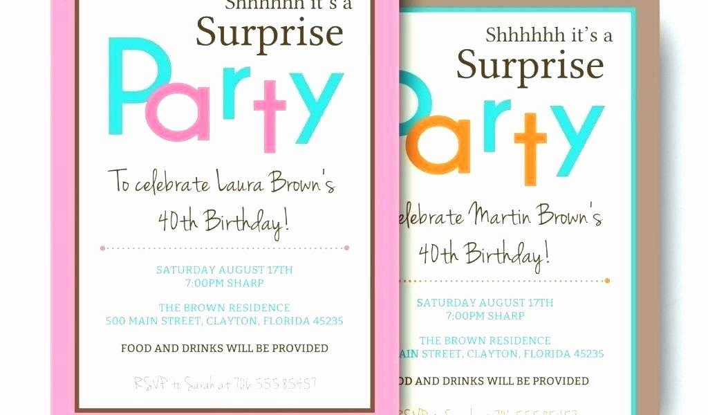 70th Surprise Birthday Invitation Templates