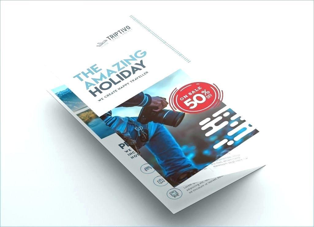 A4 Brochure Template Photoshop Free