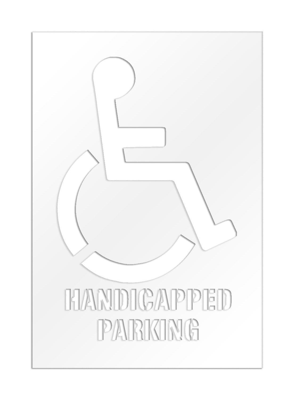 Ada Handicap Parking Template