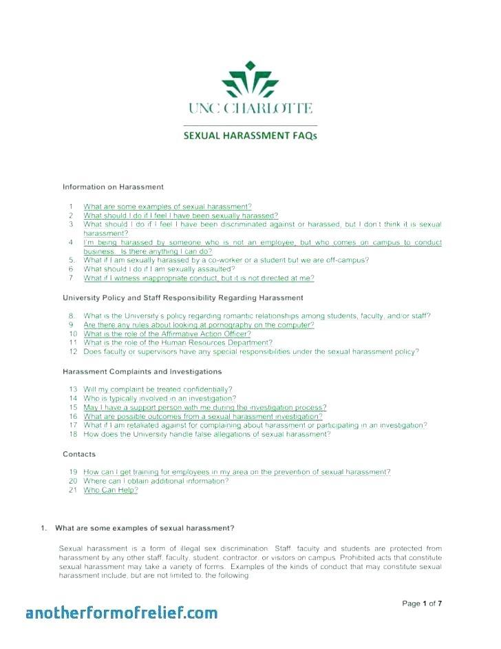 Affirmative Action Policy Examples