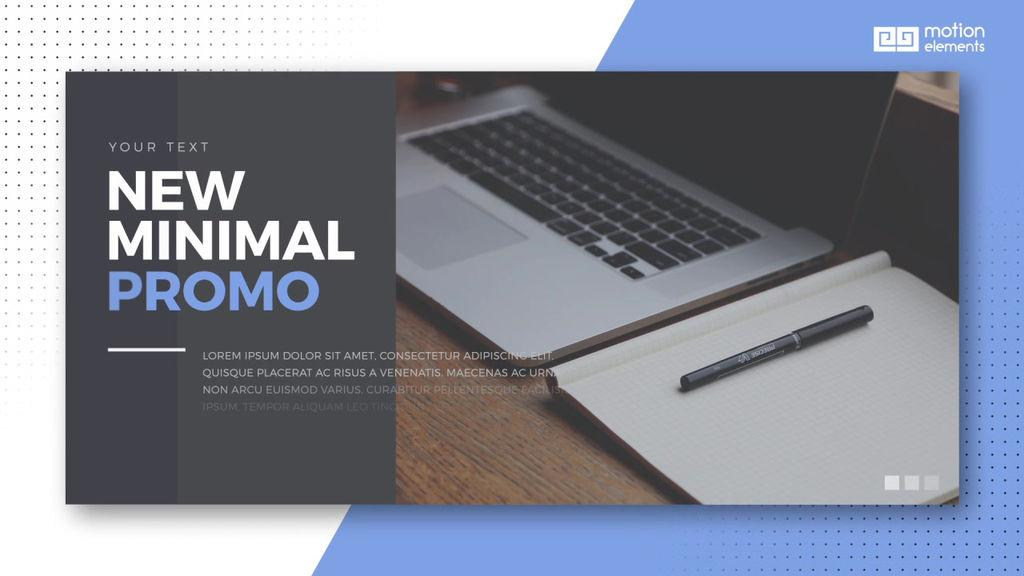 After Effects Commercial Promo Templates