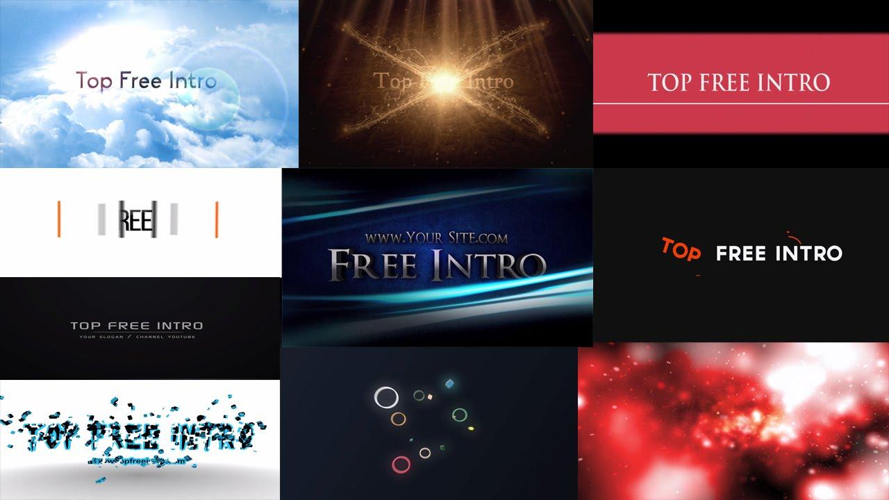 After Effects Cs6 Intro Templates Free Download