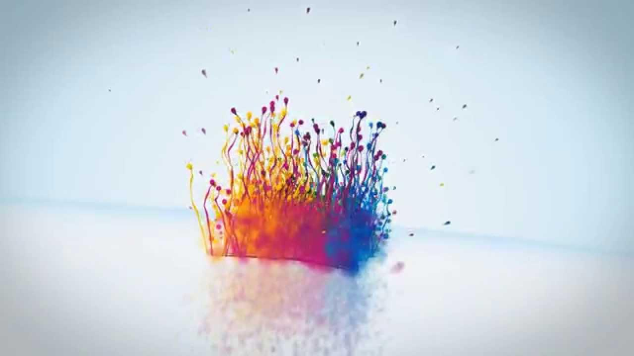 After Effects Template Particle Splash Logo Reveal