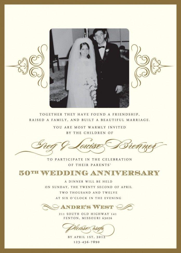 Anniversary Invitation Templates