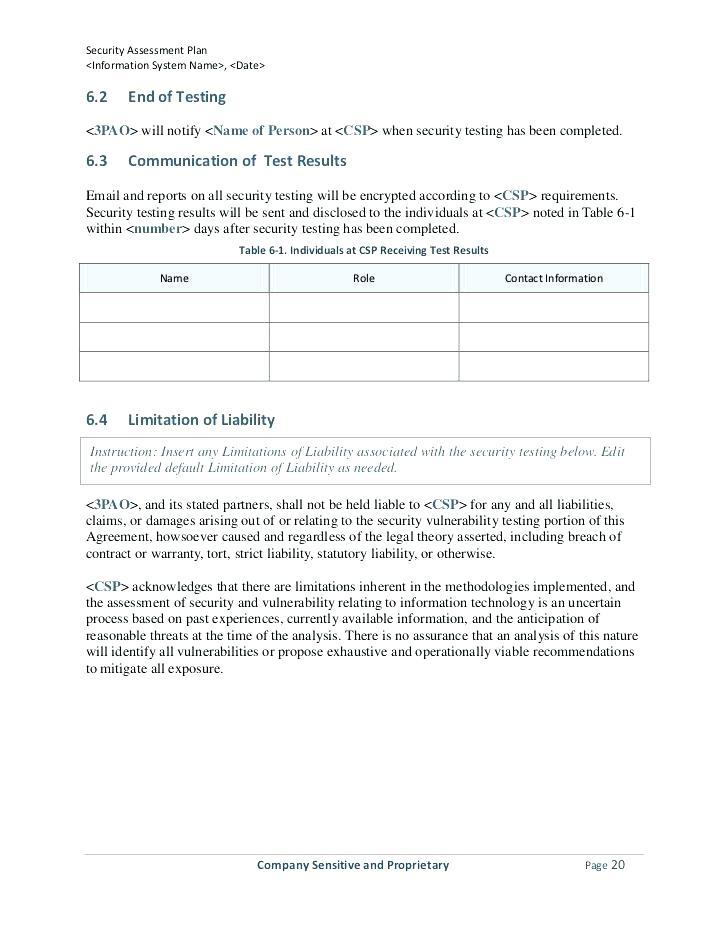 Annual Security Incident Report Template