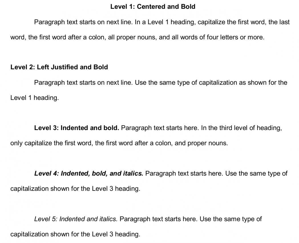 Apa 6th Edition Example Essay