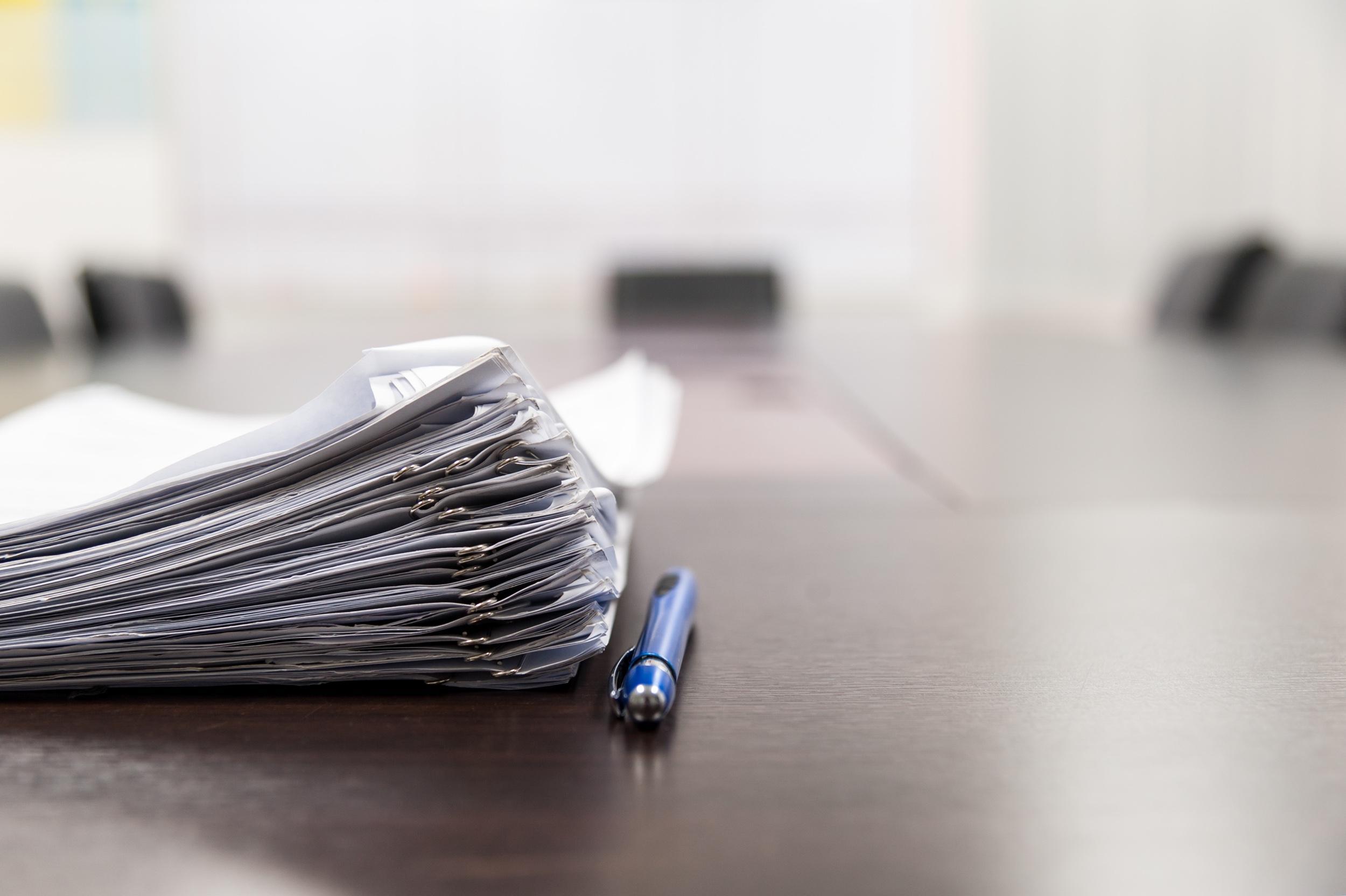 Apartment Rental Documents