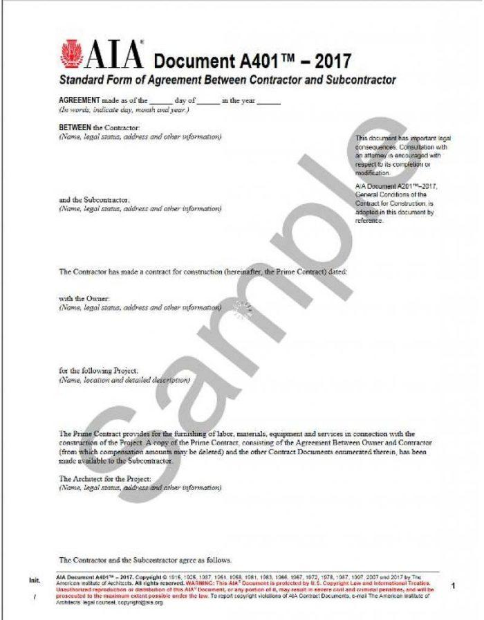 Architect Contract Template Uk