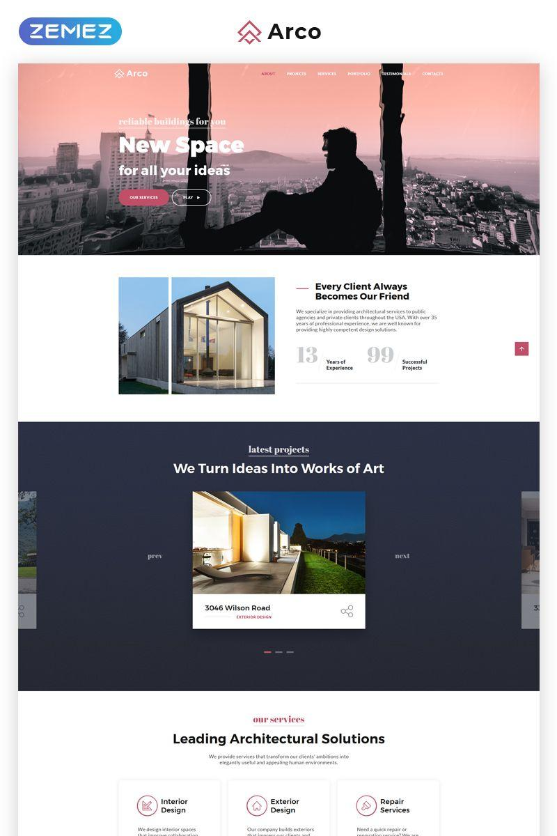 Architect Website Templates