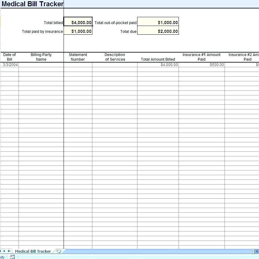 Attorney Billing Sheet Template