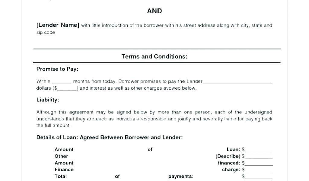 Auto Installment Contract Template