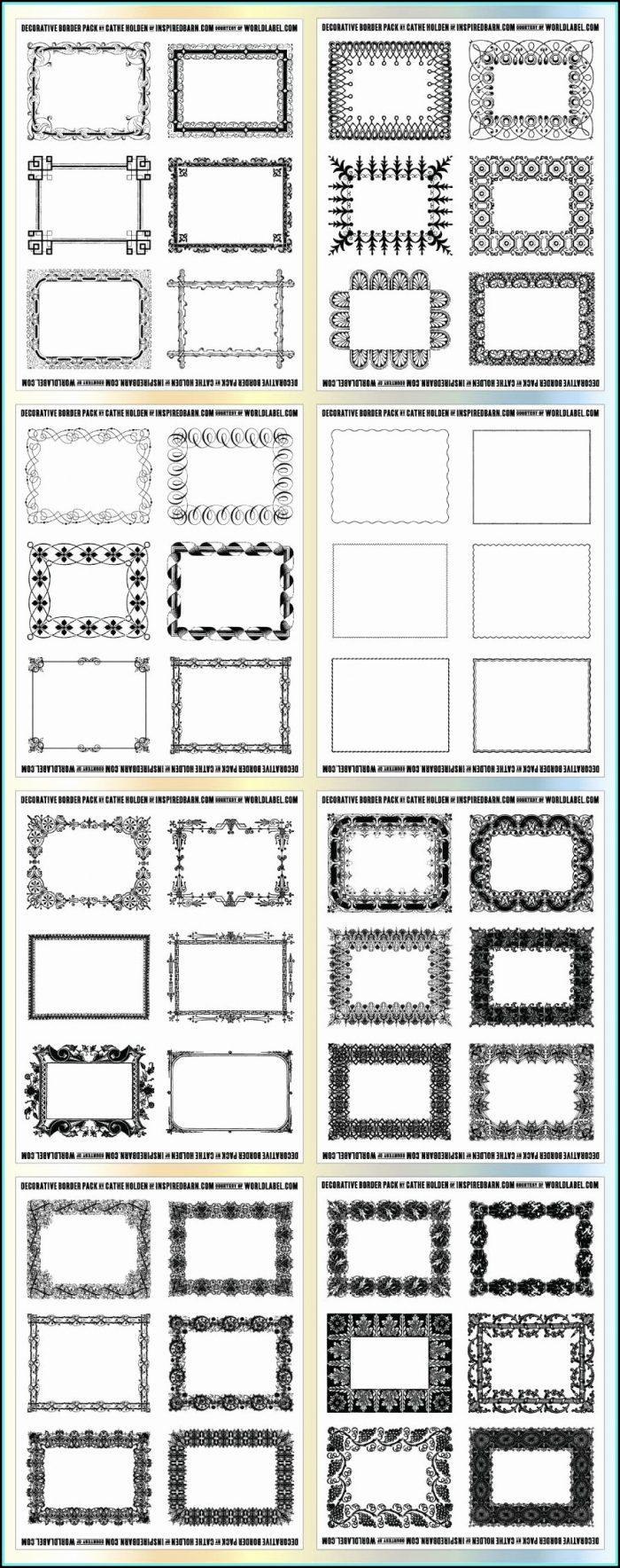 Avery 8 Tab Clear Label Dividers Template