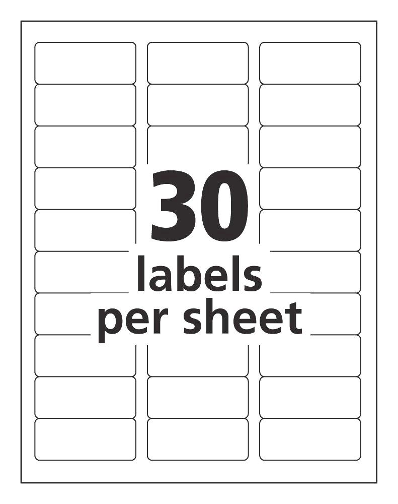 Avery Address Label Templates