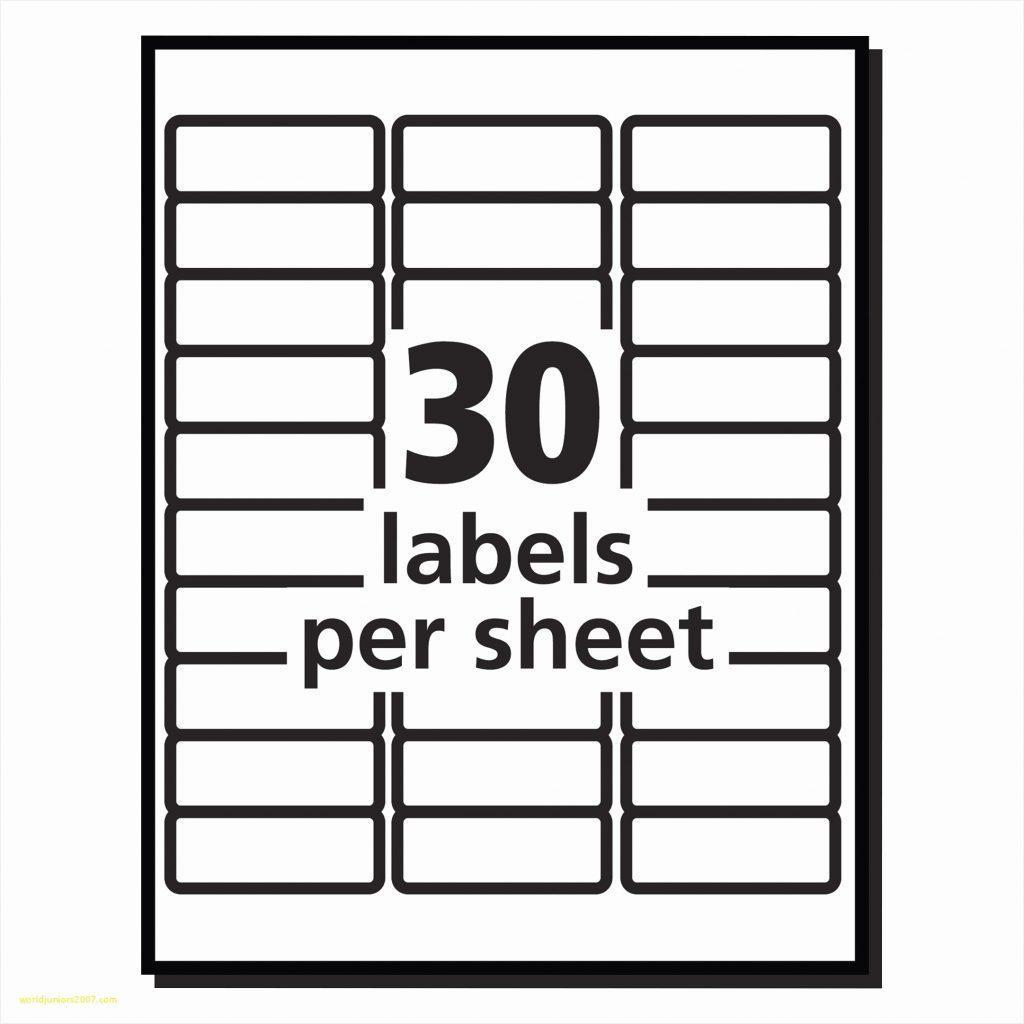 Avery File Folder Labels Template 5266