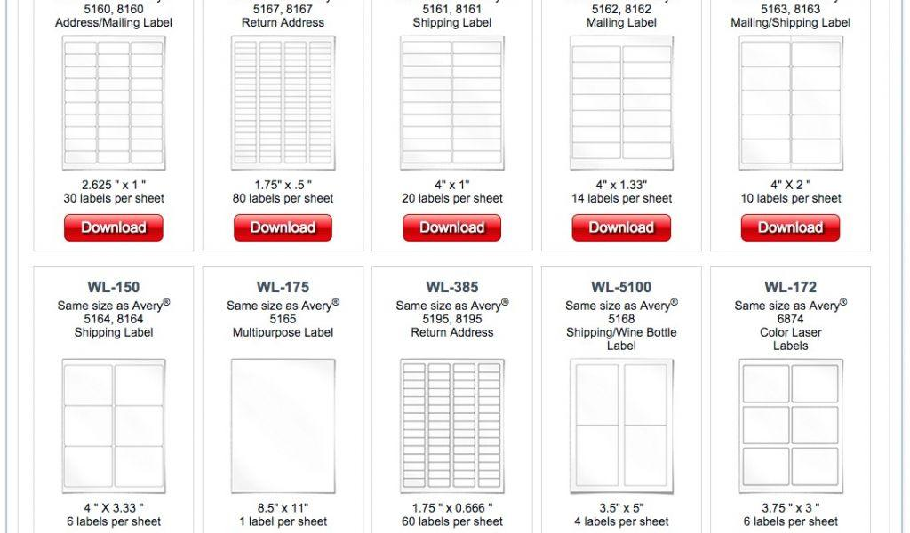 Avery File Labels Template 5366 - Templates #39901 | Resume
