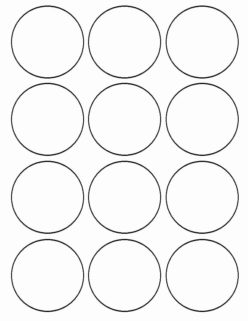 Avery Round Label Template 9 Per Sheet